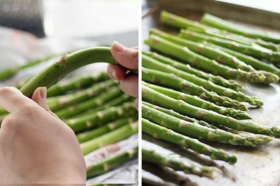 How to prepare fresh asparagus