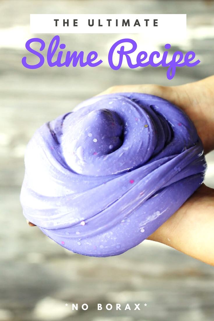 You've got to check out our Ultimate Slime Recipe. With two versions (Fluffy or SUPER-stretchy), your kids are going to love this activity. Plus we made our slime using sensitive-skin friendly ingredients. #slimerecipe