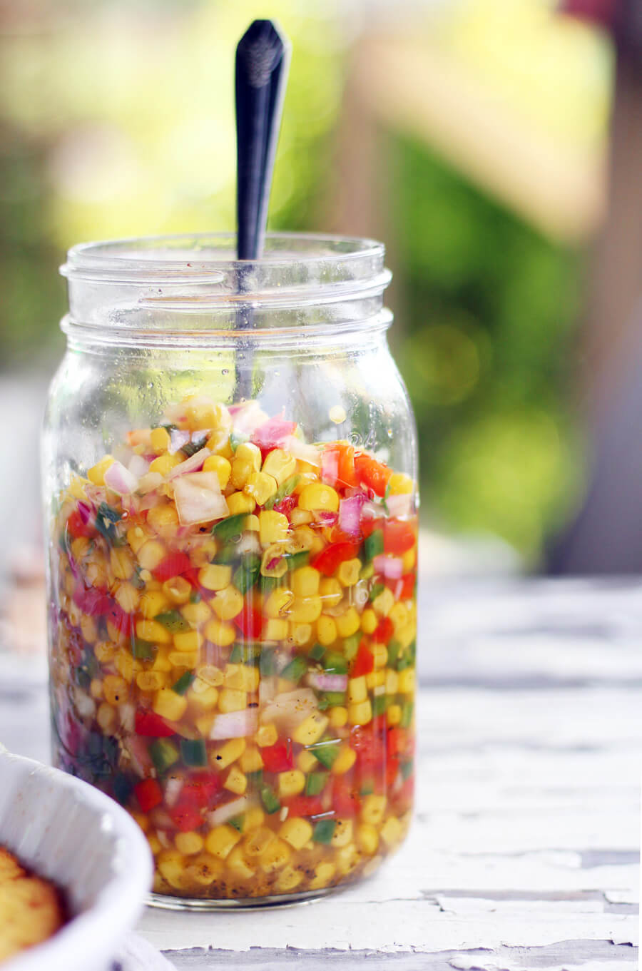 Sweet Hot Jalapeno Corn Relish
