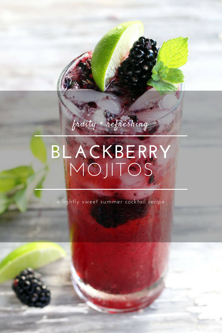 Combine a signature rum cocktail with fresh, summer blackberries to take these bubbly cocktails to a whole new level. Blackberry Mojitos capture the flavor of summer.