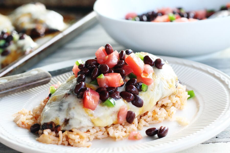 Cheesy Southwestern Grilled Chicken