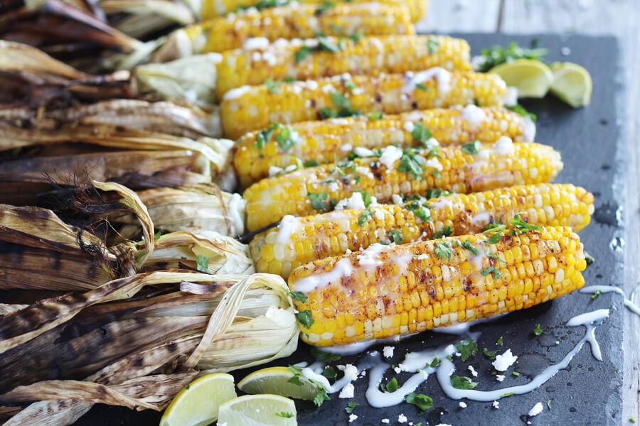 Fiesta Grilled Corn on the Cob