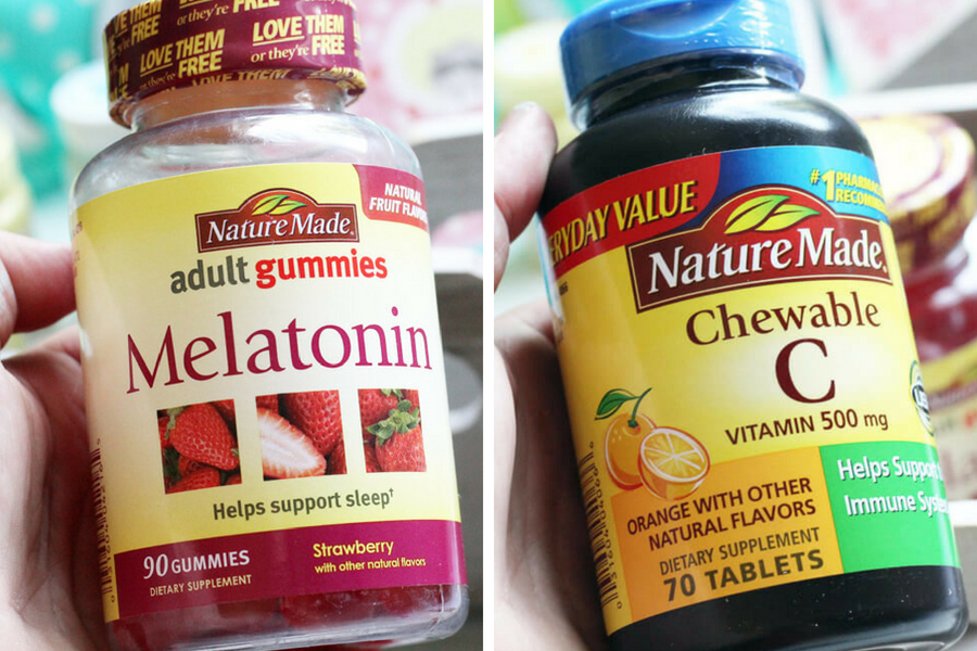 Nature Made Supplements from Walmart