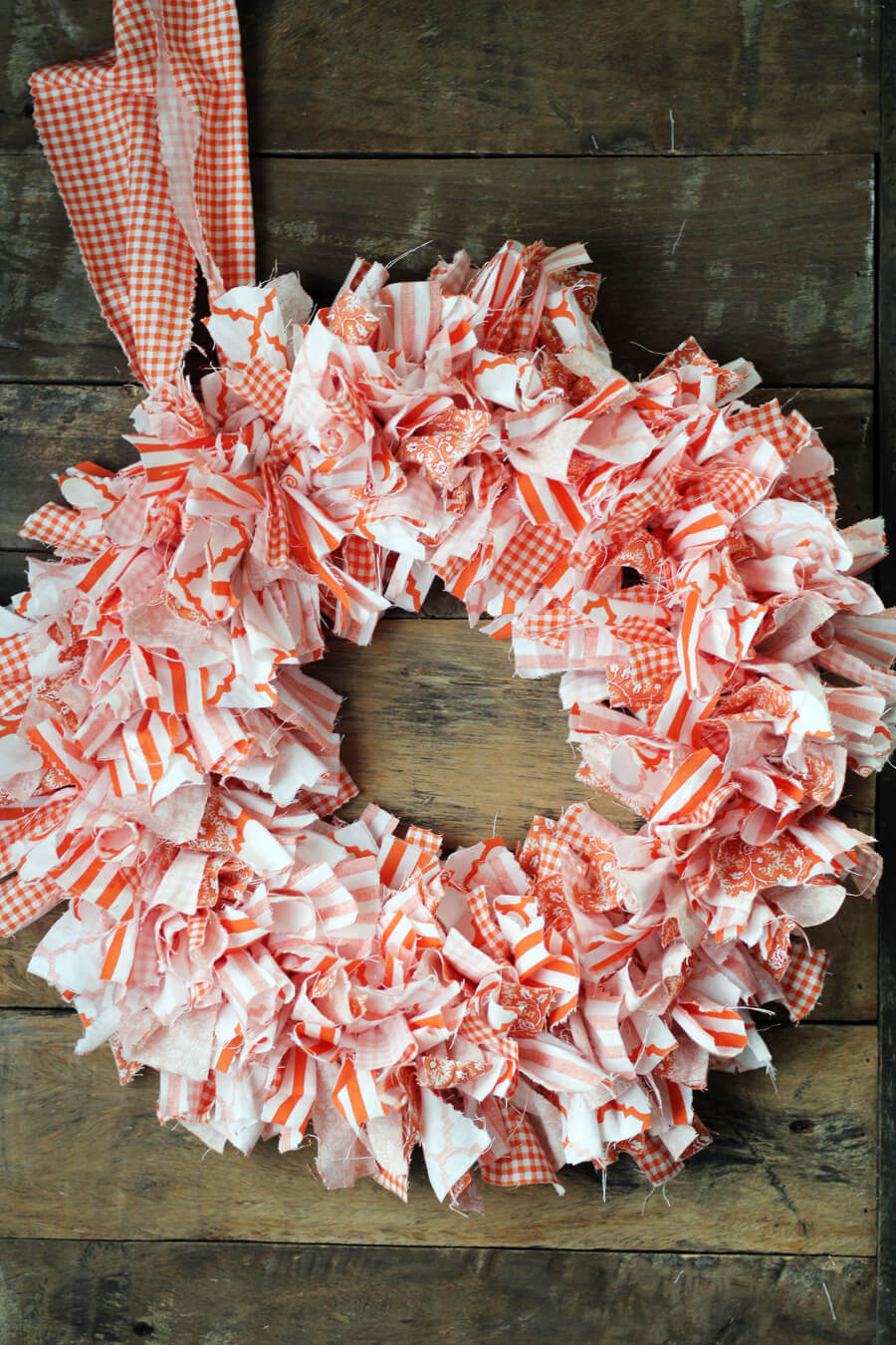 Cute Easy Rag Wreath Diy Buy This Cook That