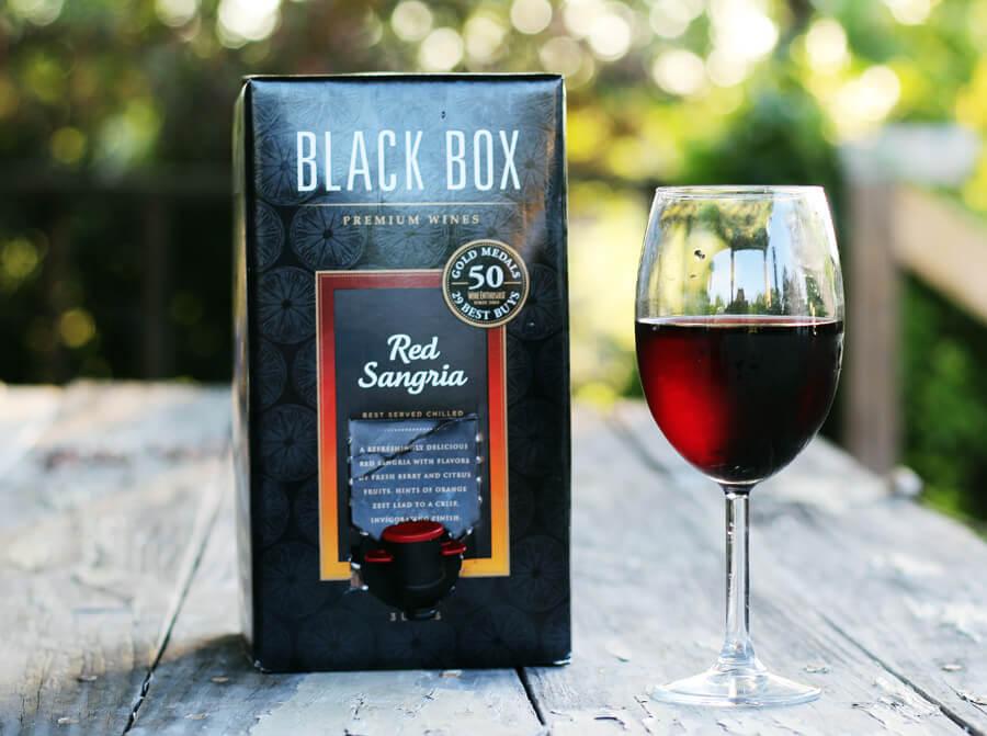 Black Box Red Sangria