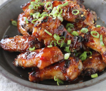 Sweet, tangy and just the right amount of spicy, these tender Thai Sticky Chicken Wings are the ultimate dream come true.