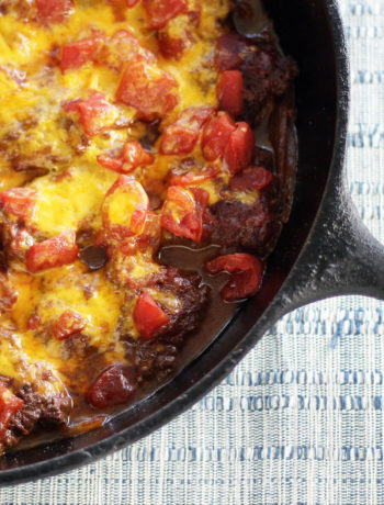 Chili Cheesy Round Steak