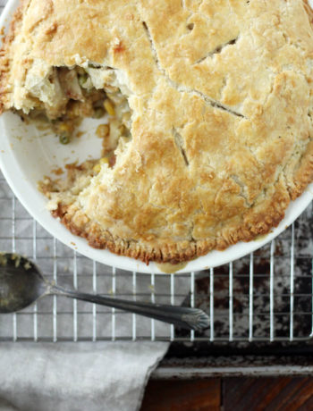 Homestyle Double Crust Chicken Pot Pie