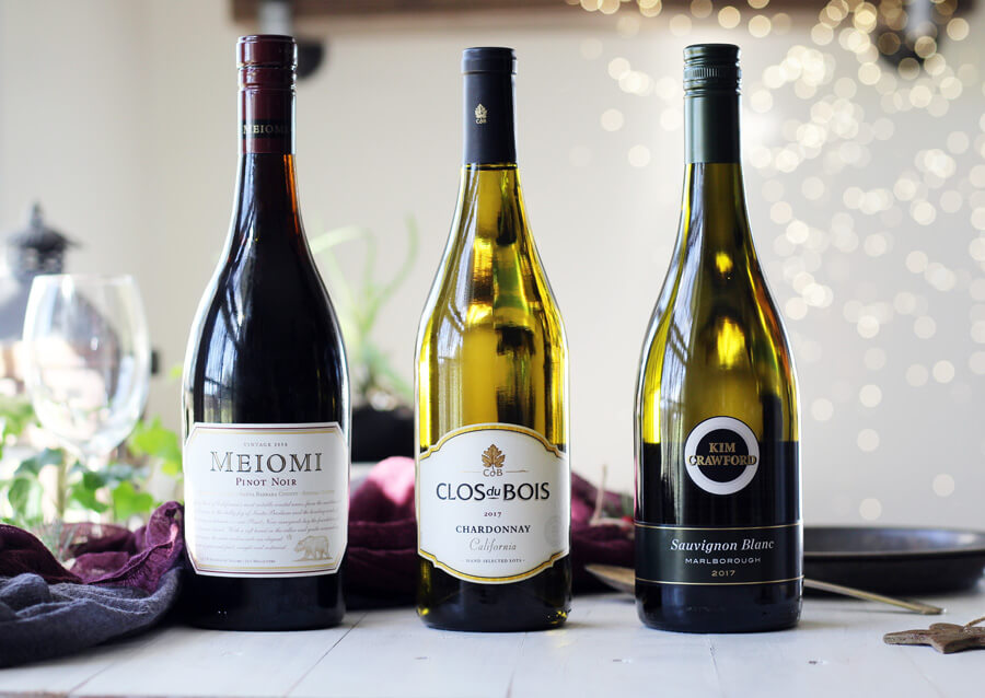 A selection of wines for holiday entertaining