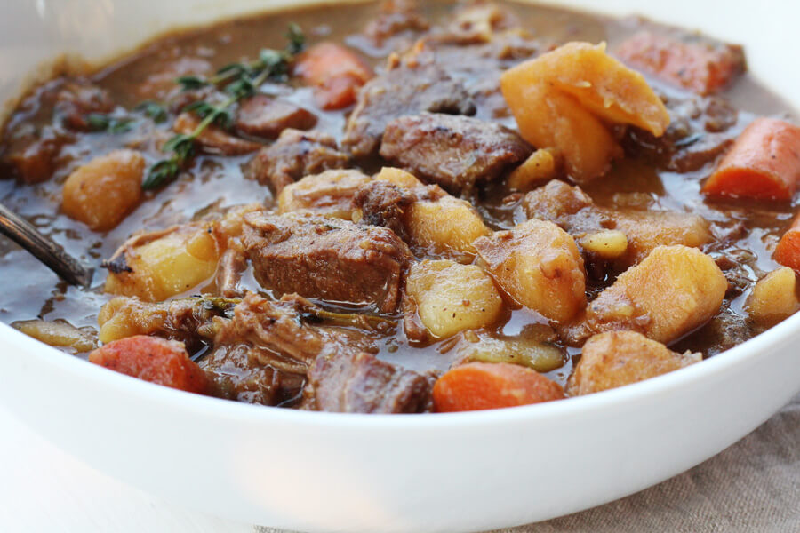Tender meat, hearty vegetables, and a savory broth come together for the ultimate Irish Stew.