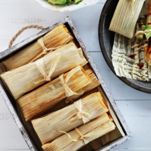 Poblano Chorizo + Cheese Tamales Recipe (How to Make Tamales) | Buy This Cook That