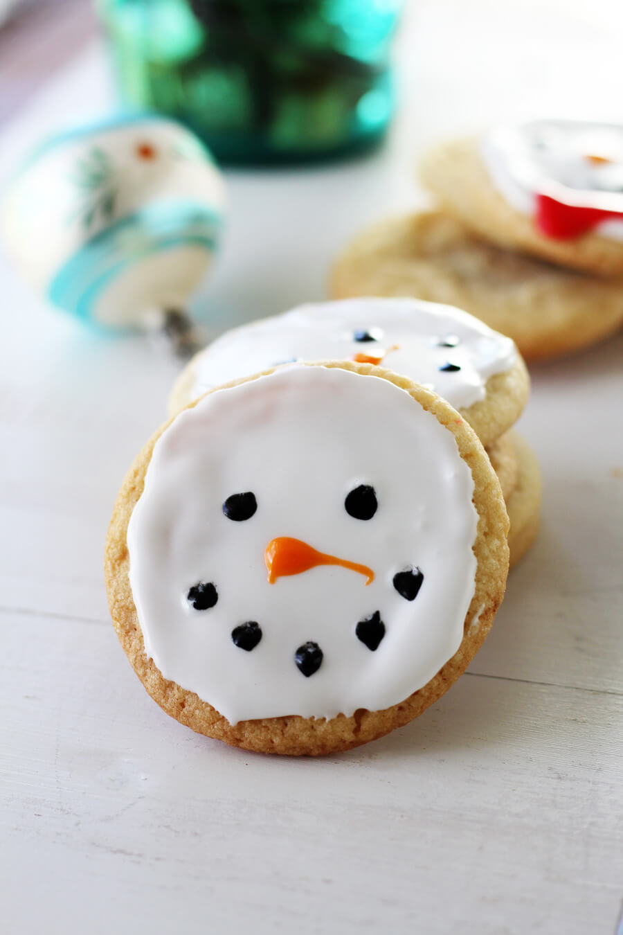 Snowman Christmas Cookies | Buy This Cook That