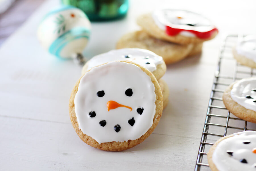Who wants to build a snowman...cookie?