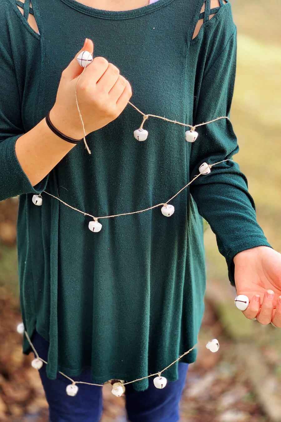 Jingle Bell Christmas Garland   Buy This Cook That