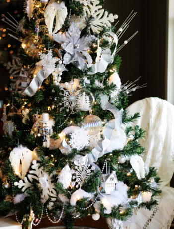 Winter White Christmas Tree Decorating Ideas