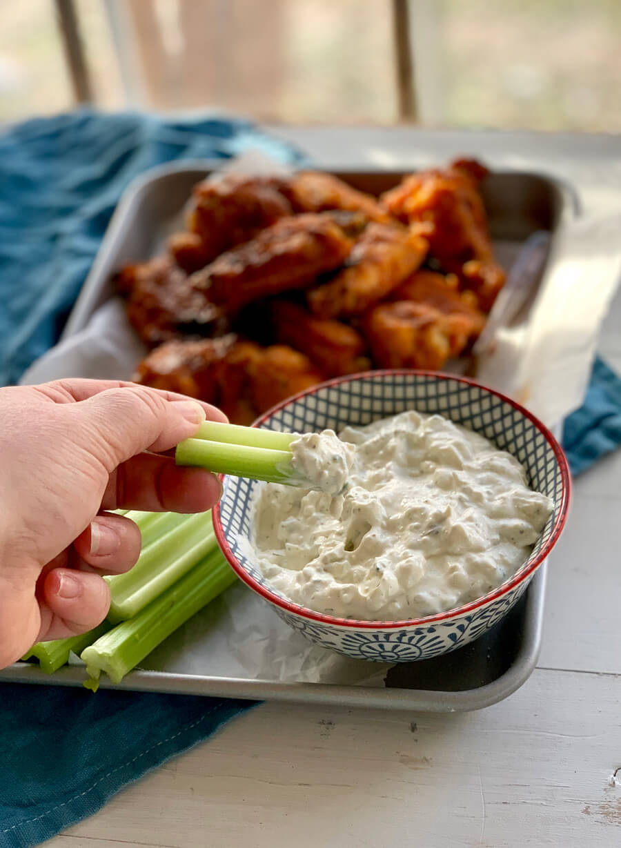 Best Ever Blue Cheese Dressing