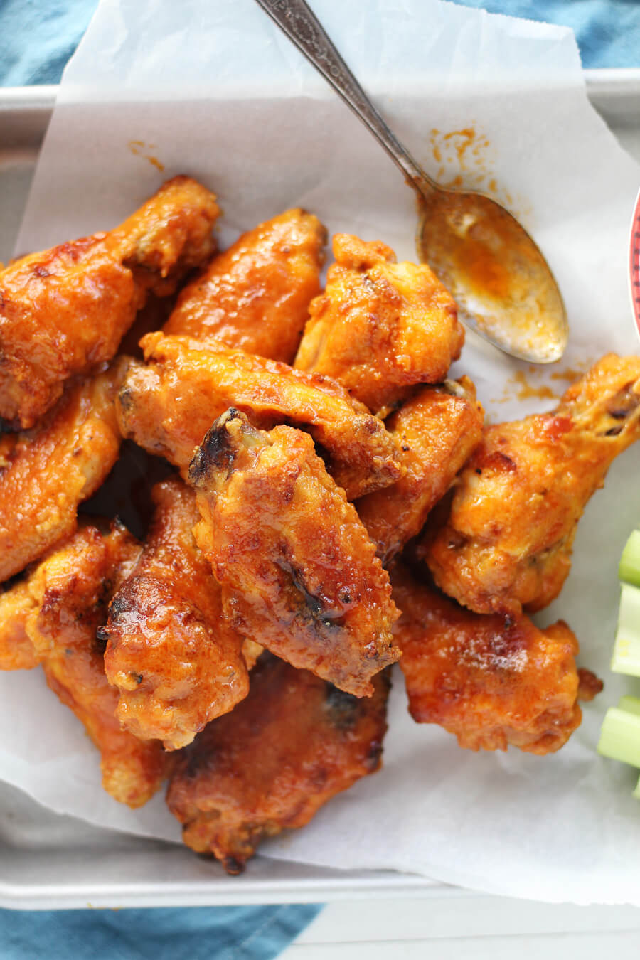 Ultimate South of Buffalo Chicken Wings