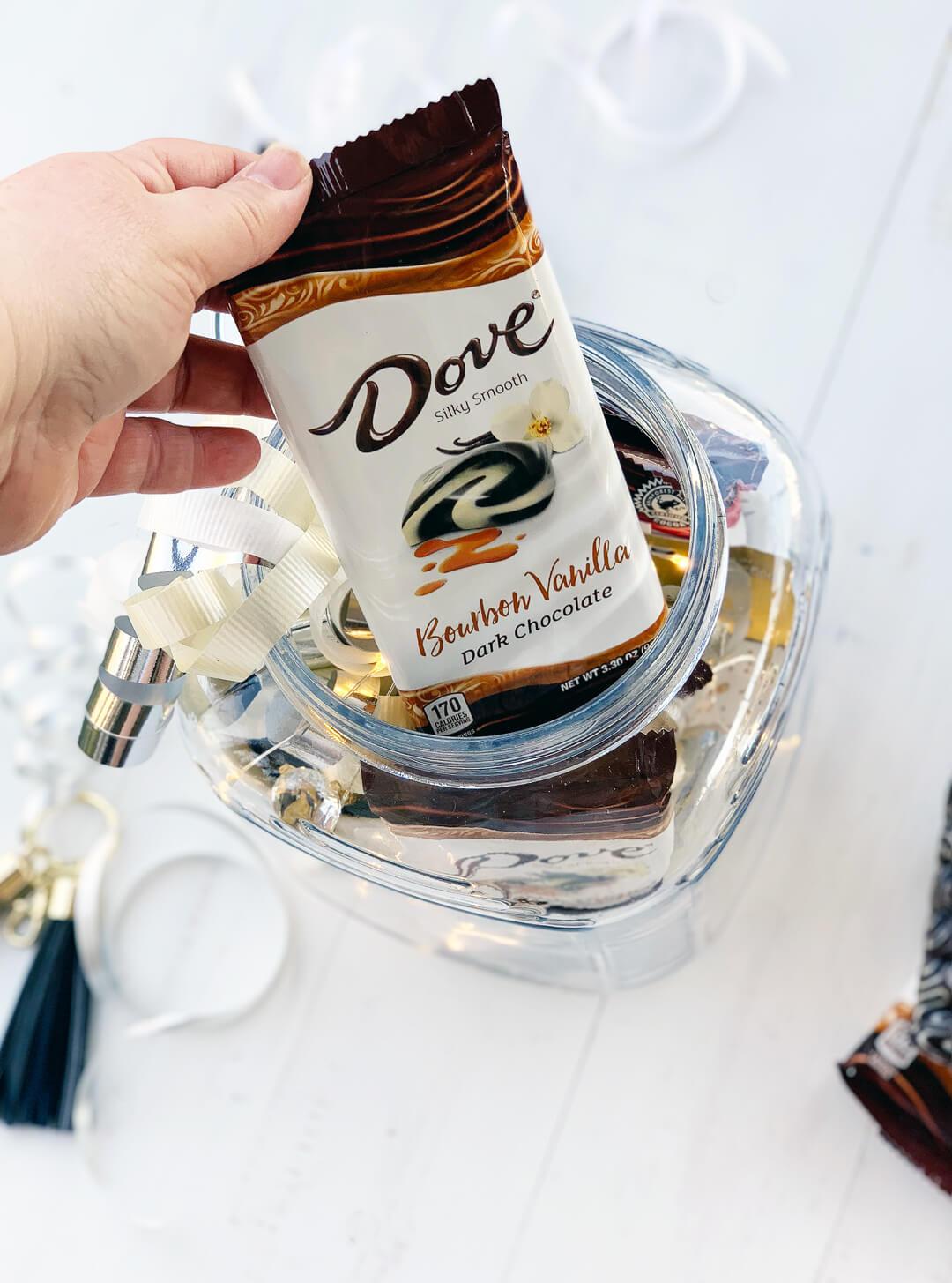Dove Chocolate Bourbon Vanilla