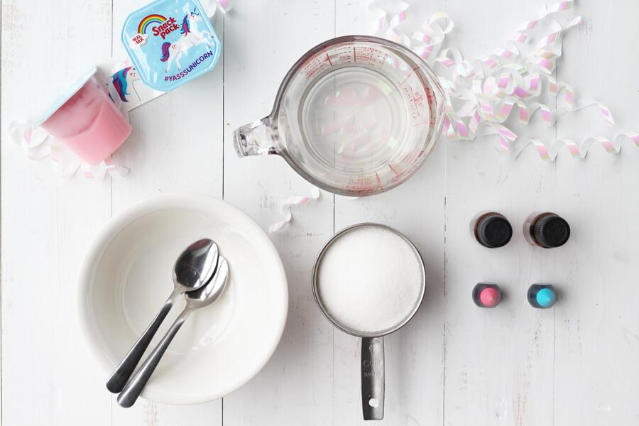 DIY Unicorn Sugar Scrub | Buy This Cook That