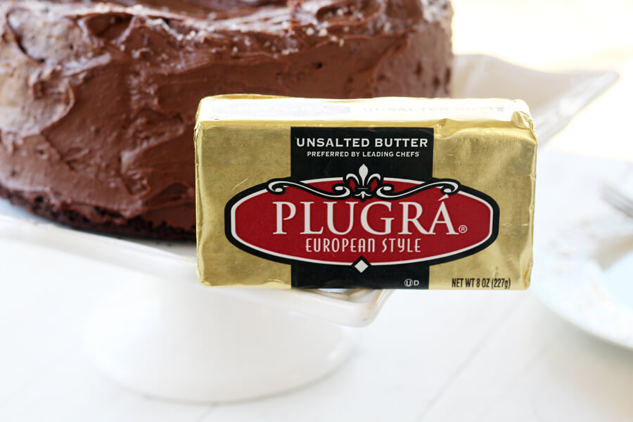 Plugra European Style Unsalted Butter - preferred by leading chefs