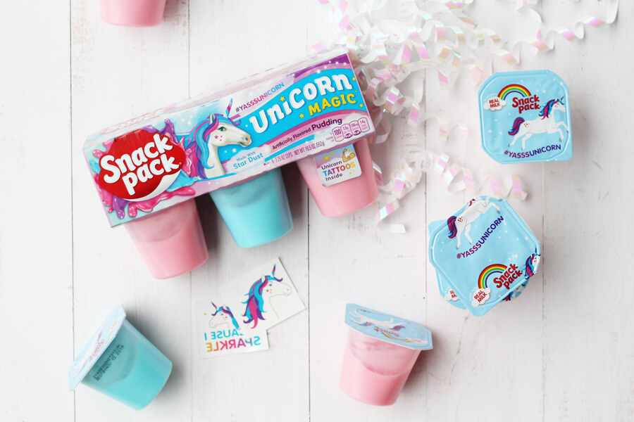 Unicorn Magic Snack Packs and DIY Unicorn Sugar Scrub Recipe