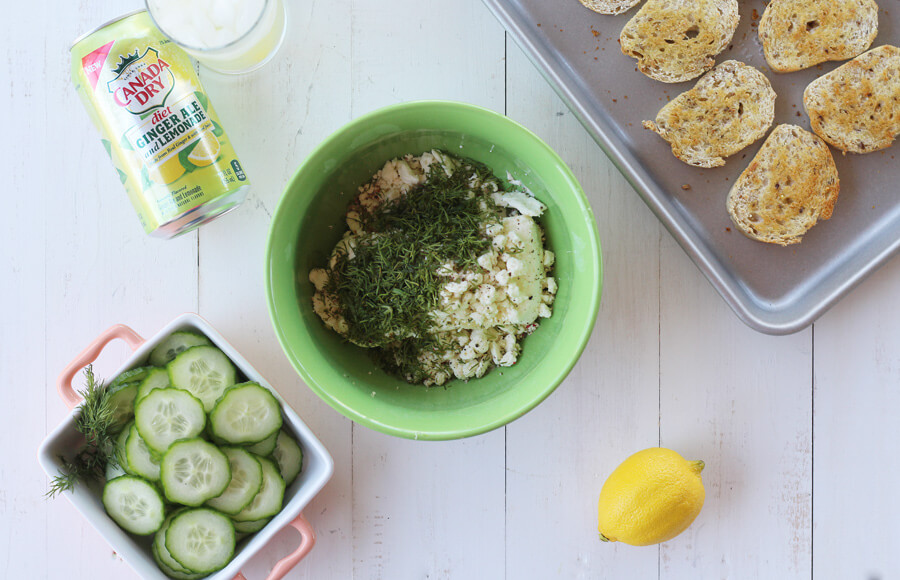 This recipe uses fresh cucumbers and baby dill for the right amount of refreshing crunch and flavor.