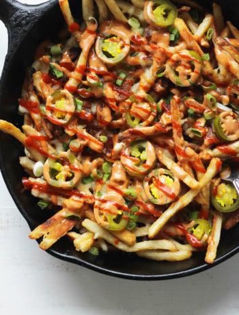 Diablo Skillet Loaded Fries | Buy This Cook That