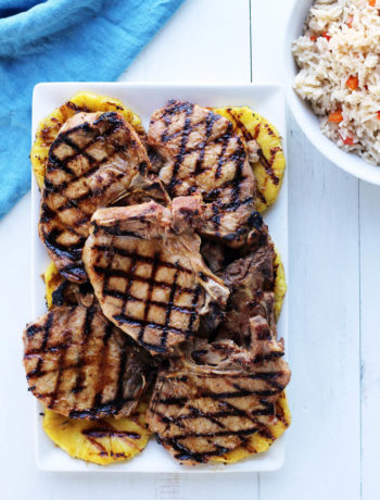 Hawaiian Pineapple Grilled Pork Chops | Buy This Cook That