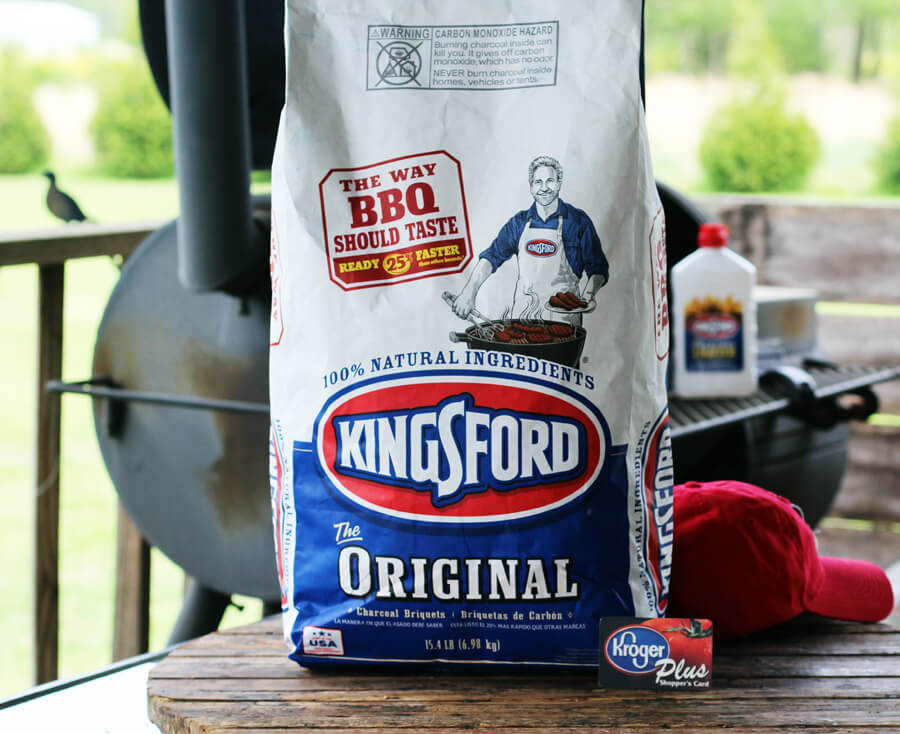 St Louis Style BBQ Ribs slow smoked with Kingsford Original Charcoal from Kroger