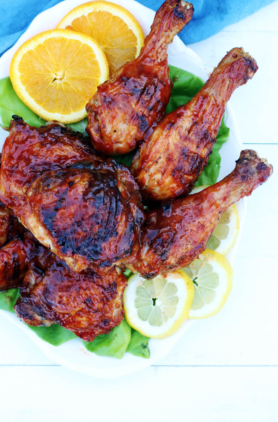 Honey Citrus BBQ Chicken | Buy This Cook That
