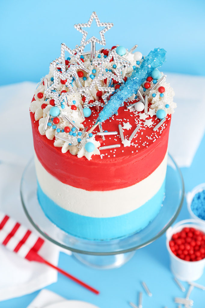 Rocket Pop Layer Cake