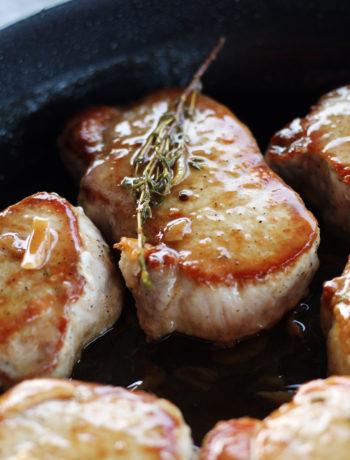 Saucy Skillet Pork Chops