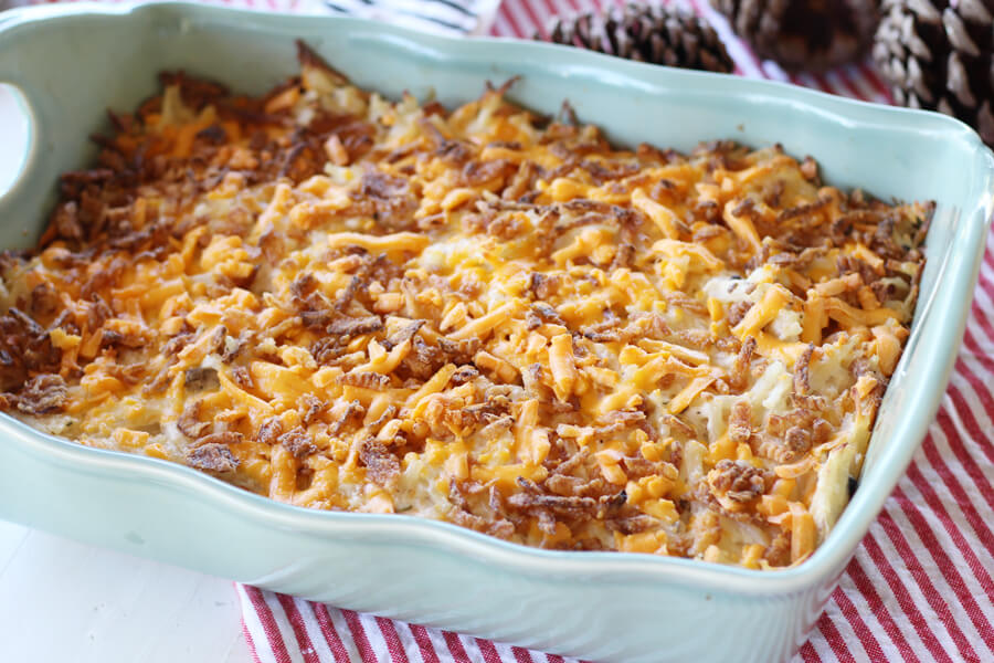 Cheesy Ranch Hashbrown Casserole
