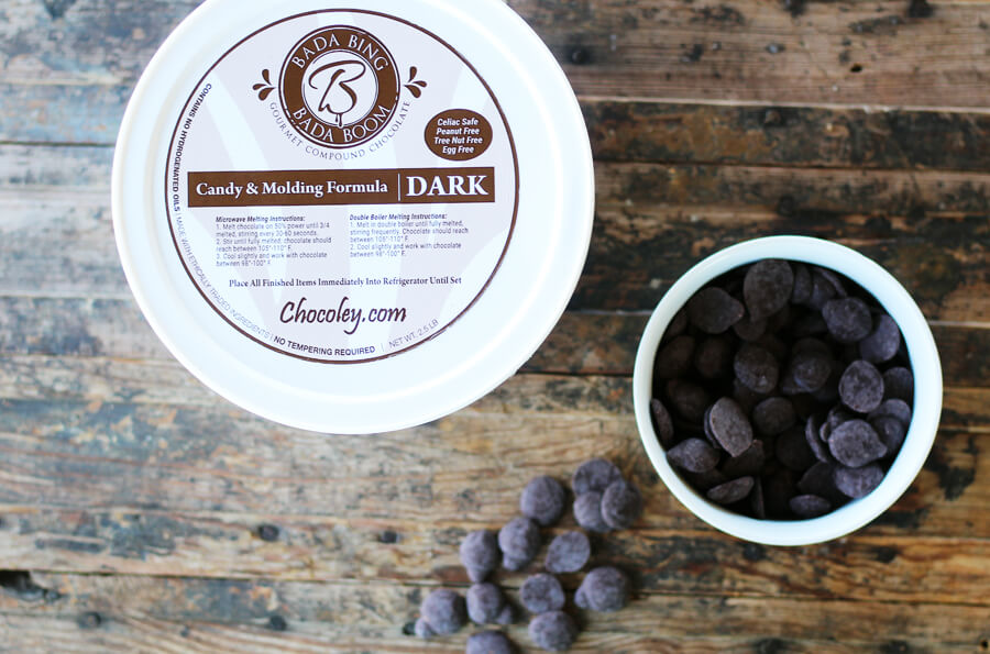 dark chocolate nibs