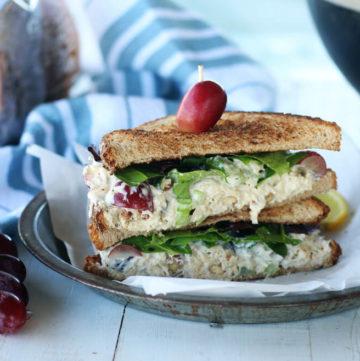 close up shot of a sandwich